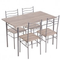 Комплект маса с 4 стола Carmen 20015