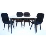 Разтегателна Маса + 4 стола АМУР
