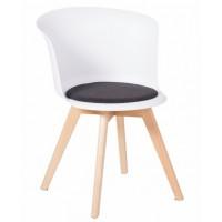 Трапезен стол Carmen 9968 - бял