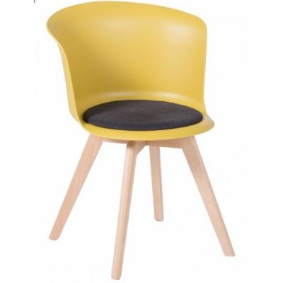 Трапезен стол Carmen 9968 - жълт