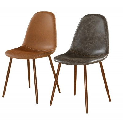 Стол за хранене еко кожа и метал К 278