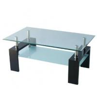 Холна маса D-180 100/60/60 венге с матирано долно стъкло