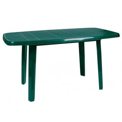 Пластмасова маса Сиеста187 140/80/72 зелена
