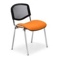 Посетителски стол Iso ergo mesh chrome