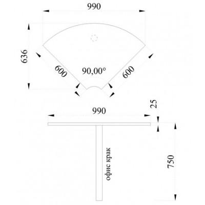 Модул Гранд M 44 - ъглов сектор