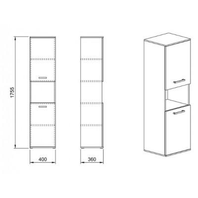 Модул Гранд М 64 - шкаф
