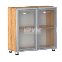 Офис модул 10 витрина с МДФ профил