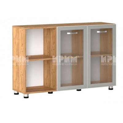 Офис модул 11 шкаф за документи витрина с алуминиев профил