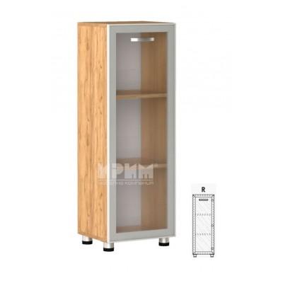 Офис модул 16 десен/ витрина с алуминиев профил