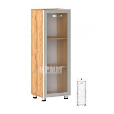 Офис модул 17 ляв/ витрина с алуминиев профил