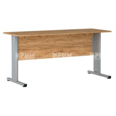 Офис модул 177 бюро с метални крака 160/59 см