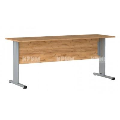 Офис модул 178 бюро с метални крака 180/59 см