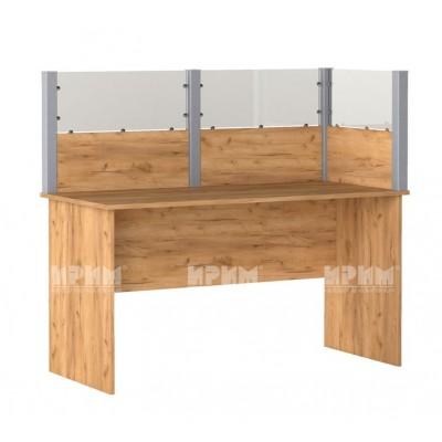 Офис модул 195 бюро с преграда 140х65 см