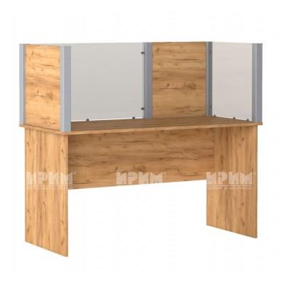 Офис модул 197 бюро с преграда 140х65 см