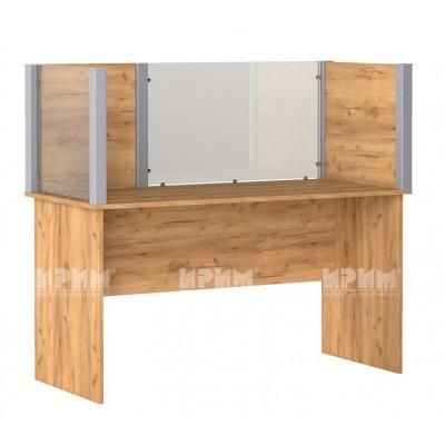 Офис модул 198 бюро с преграда 140х65 см