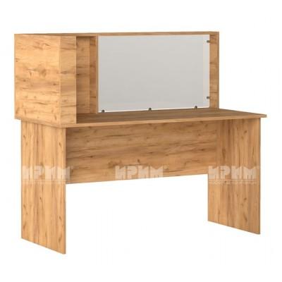 Офис модул 200 бюро с преграда 140х65 см