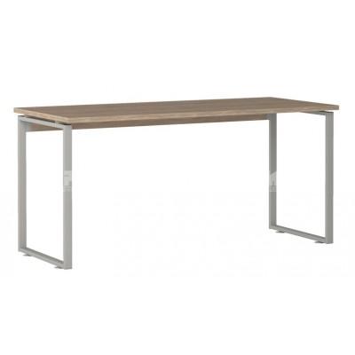 Офис модул 256 бюро 160/70 см с метални страници и дебелина на работен плот 25 мм