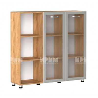 Офис модул 27 шкаф за документи витрина с алуминиев профил