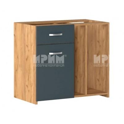 Офис модул 292 носещ контейнер с 1 чекмедже, 1 врата и 2 ниши - ляв и десен