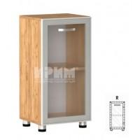Офис модул 3 десен - витрина с алуминиев профил