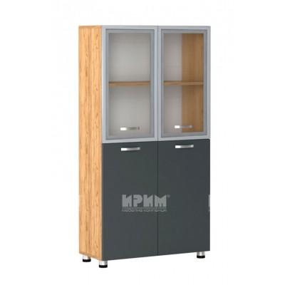 Офис модул 42 витрини с МДФ профил
