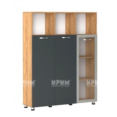 Офис модул 47 витринa с алуминиев профил