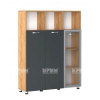 Офис модул 48 витрина с МДФ профил
