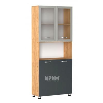 Офис модул 72 витрина с алуминиев профил