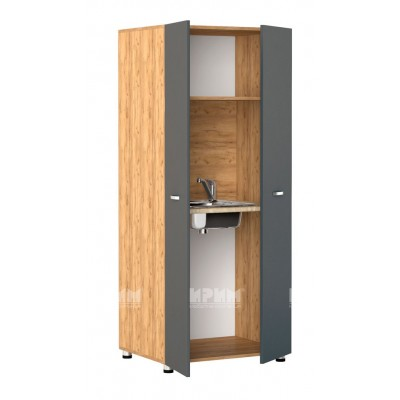 Офис модул 77 - шкаф с термоплот и вградена мивка