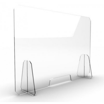 Предпазен екран за бюро Plekso 01 - 5 мм