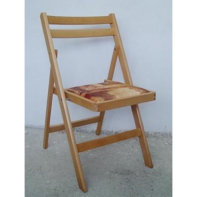 Сгъваем стол с тапицерия