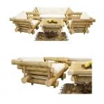Комплект от бамбук 198 Мави
