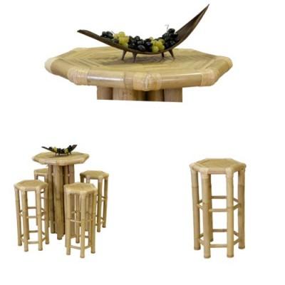 181 Бар маса от бамбук