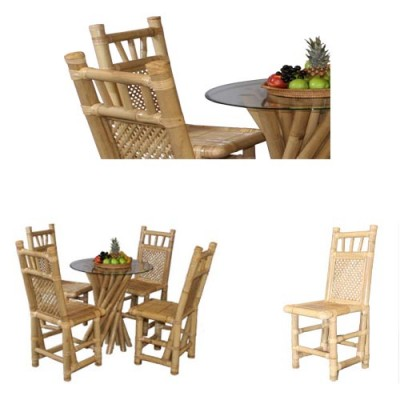120 Стол Сату от бамбук