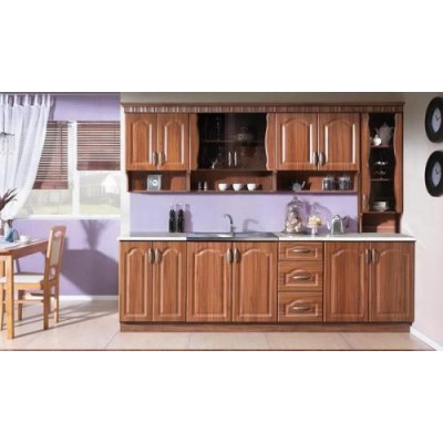 Кухня Карина 260 МДФ Слива/Златен дъб