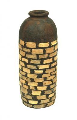 15037 Керам бутилка фурнир 40
