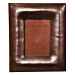 18022 Фото рамка кожа