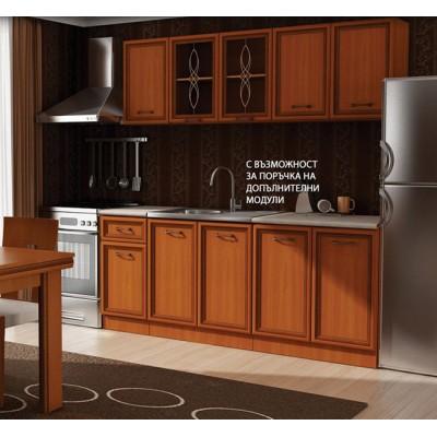 Кухня Равена - два цвята