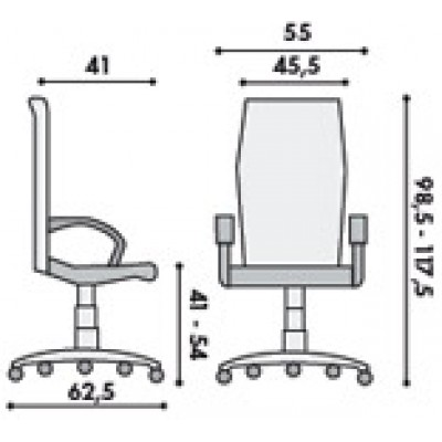 Работен стол Golf