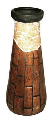 15082 Крем ваза декор 28