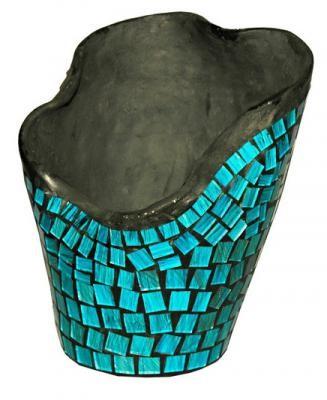 15110 Керам ваза стъкълца