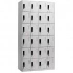 Метален шкаф Carmen CR-1277 - сив