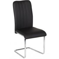 Стол за хранене еко кожа с извити крака Carmen 372