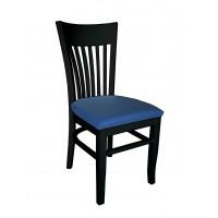 Черен трапезарен стол Атина