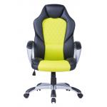 Геймърски стол Viking зелен неон