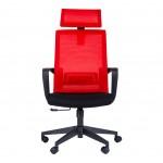 Офис стол ТОРО HB червен