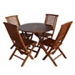 Мебели от тиково дърво