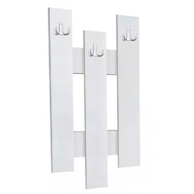 Стенна закачалка 3 бяла
